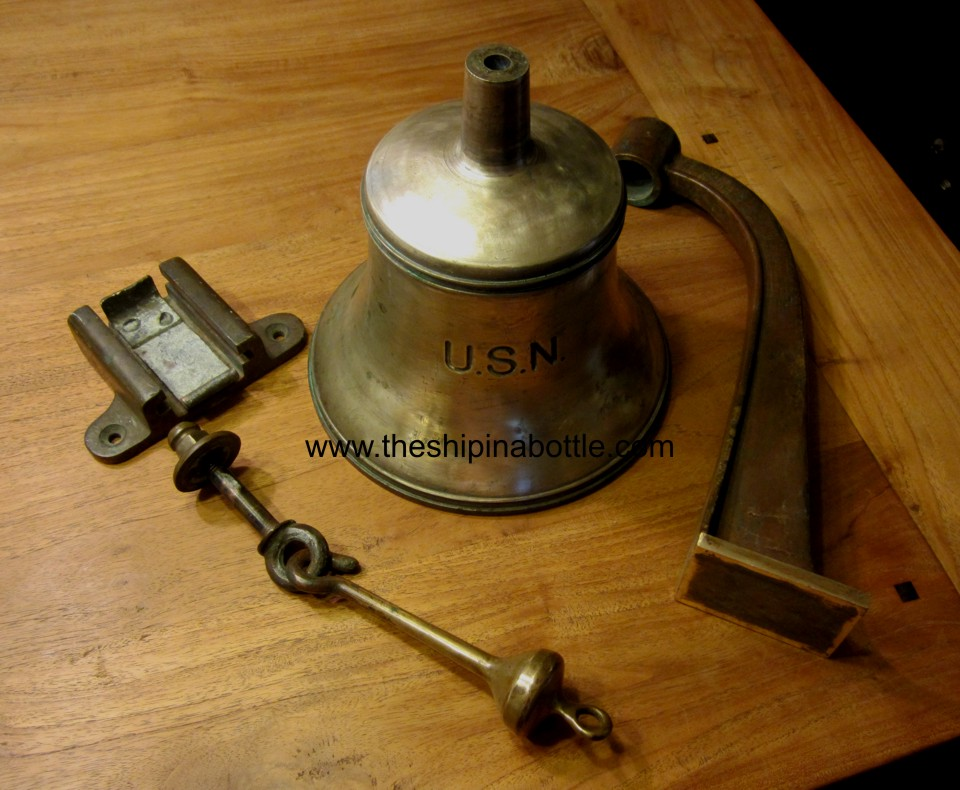 WW-I Era Fore Deck Bell