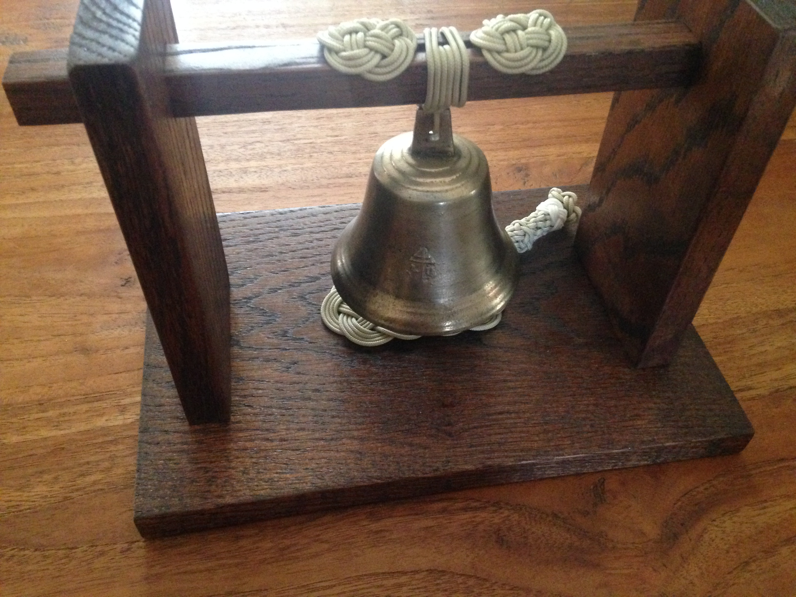 Miniature bell and stand